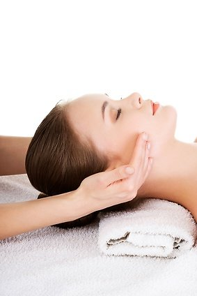 Christmas Special Facial Rejuvenation offer. Facial massage image